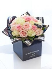 Julien Macdonald Dreamy 24 Rose Hand-tied