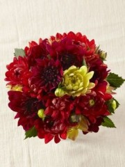 Ruby Glow Bouquet