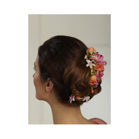 Delicate Floral Hair Comb